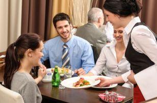 Happy-Customers- Waiter