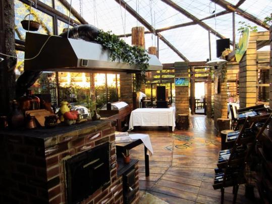 Frumosul restaurant din localitatea turistica Sinaia