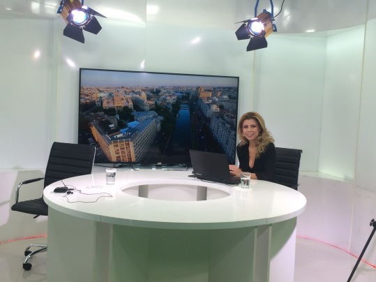 In studioul TV Travel Mix